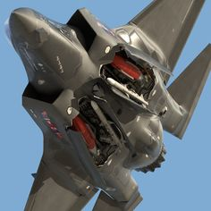 F-22 with bay open