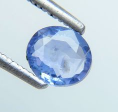 0.89ct Wonderful Cornflower Blue Color Oval Cut 7x6mm Unheated Natural Sapphire