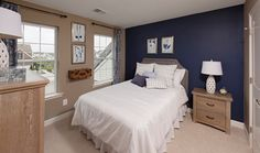 Gorgeous bedroom in the Sycamore model. New homes by Timberlake Homes Home Photo, Photo Galleries, Bedrooms, New Homes, Gallery, Model, Inspiration, Furniture, Home Decor