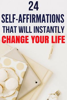 These self-affirmations will instantly change your life. They will make you a more positive thinker, increase your self-confidence. If you are a woman, then these affirmations for women is a must read. self-care self-love self-improvement self-confi