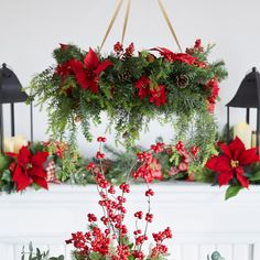 Christmas Wreath Chandelier Silver Christmas Decorations, Christmas Centerpieces, Diy Christmas Ornaments, Christmas Wreaths, Holiday Decor, Christmas Chandelier Decor, Christmas Flowers, Christmas Staircase, Christmas Arrangements