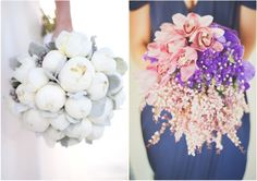 The bouquet on the left!