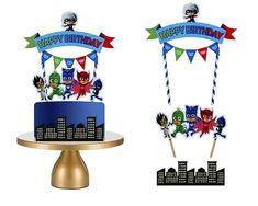 PJ Masks Cake Topper Pj Masks Birthday Pj Masks Party Pj
