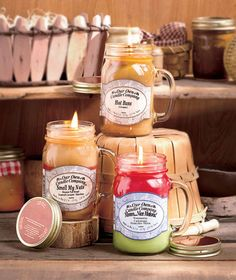 Sassy Scented Mason Jar Candles|The Lakeside Collection