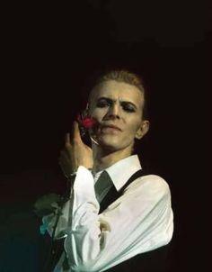 David Bowie (1976) photographed by Patrick Jarnoux