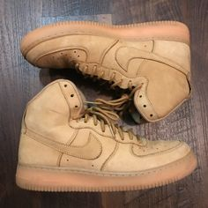 new style 8b179 26226 Nike Shoes   Nike Wheat Air Force One   Color  Tan   Size  10.5