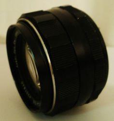 Asahi Super-Takumar 50mm F/1.4 Lens #4307840. The optics are clear and has a 42mm screw thread
