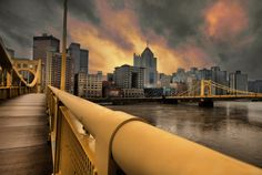 Pittsburgh...bit of a different view...kinda neat.