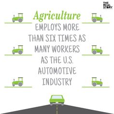 This statistic tells us how heavily the US depends on agriculture. I could mention the hit the economy takes when it is affected by natural disaster. Agriculture Quotes, Agriculture Industry, Farm Facts, Classroom Posters, Classroom Ideas, Farm Kids, Future Career, Career Development, Way Of Life