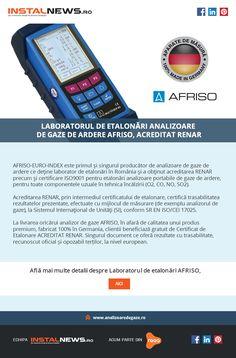 Analizoare AFRISO cu certificat de etalonare in regim acreditat RENAR