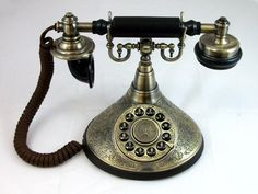 ShippingFree 1910s Duck Classic Old Timey School Antique Vintage Novelty Looking Style Retro Rotary Dial Desk Phone Reproduction Replica Malimali Home http://www.amazon.com/dp/B00ORIQ46K/ref=cm_sw_r_pi_dp_eXtxub1FPTZJS