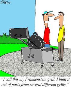 Sunday Morning Comics April 28, 2013 #Cartoon #Comic #Grilling #Cartoons http://www.cooking-outdoors.com