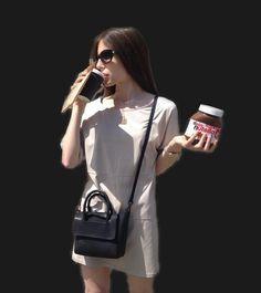 "179 Likes, 3 Comments - Hieleven (@hieleven) on Instagram: ""Minimalist summer styling via @lauraveszpremi featuring Mini Flap Closure Handbag in black 💯…"""