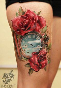 tattoo rosen farben