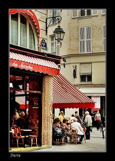 cafe+Paris+France | Café Life in Paris, France