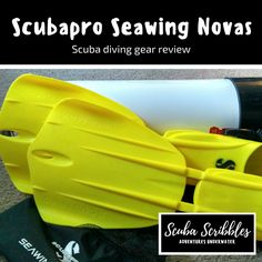 Scuba Diving Gear Review: Scubapro Seawing Novas by Candice Landau | Scuba Scribbles