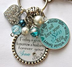 Mother of Groom gift from Bride Today a groom tomorrow by TrendyTz