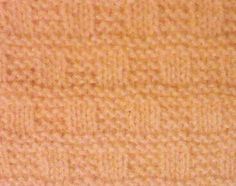 Little Checks Stitch - Purl Avenue Knit Purl Stitches, Knitting Stiches, Easy Knitting Patterns, Free Knitting, Stitch Patterns, Crochet Patterns, Knitted Washcloths, How To Purl Knit, Stitch Design