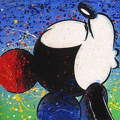Mickey Mouse - Lovey - David Willardson - World-Wide-Art.com - $450.00 #Disney #DavidWillardson #Mickey