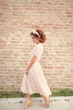 Lace Midi Dress » Claudia Fagadar