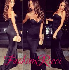 $169.99  https://www.storenvy.com/products/18223613-sweetheart-strapless-black-sexy-prom-dresses-backless-satin-mermaid-long-pro