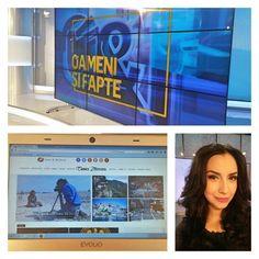 Grafica noua pentru Oameni si Fapte, proiecte noi pentru www.emmazeicescu.ro si veselie pentru mine! Yeyyyy! Joi, o zi buna! A voastra cum e? #oamenisifapte #hainenoi #tvshow #emmazeicescuro