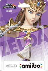 Zelda amiibo Box Art