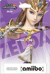 Zelda amiibo Box Art