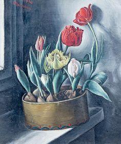François Barraud Tulipes 1930.