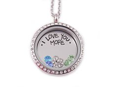 I Love You More Locket