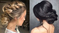 5 low bun hairstyles....