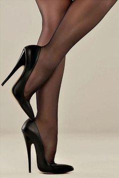 Adorable High Heel Shoes Ideas For Beautiful Women 10 - Hot Stilettos - Heels High Heel Boots, High Heel Pumps, Pumps Heels, Heeled Boots, Stiletto Heels, Sexy Heels, Shoes Sandals, Nylons Heels, Stockings Heels