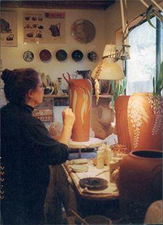 #CAPCA | JC Niehaus Pottery | Jeannine Calcagno Niehaus | Stoneware Pottery