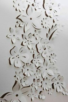 30 Brilliant Cut out Canvas Art Project Examples - Hobby Lesson 47 Extremely Creative Examples Of Kirigami Art: A Hobby To Adopt - pokmnwasx It's not a difficult to buy an art piece but it remains special when we make something with our own hand. Kirigami, Art Diy, Diy Wall Art, Cut Out Canvas, Tapetes Diy, Paper Art, Paper Crafts, Canvas Art Projects, Metal Tree Wall Art