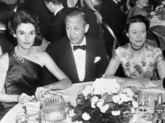 Babe Paley with her husband and the Duchess of Windsor - November 1955