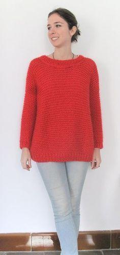 Crochet Fashion, Baby Knitting, Crochet Projects, Korean Fashion, Knitwear, Knitting Patterns, Pullover, Wool, Sweaters