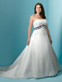 Alfred Angelo Bridal Style 1708W from Plus Size Wedding Dresses