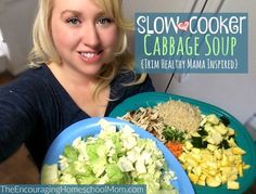 Slow Cooker Cabbage Soup: Trim Healthy Mama Inspired!