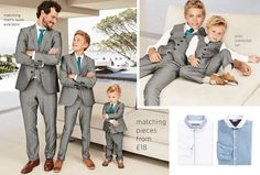 Like Father Like Son | Suits & Party | Boys Clothing | Next Official Site - Page 2