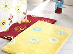 Cheap Bath Rugs ~ http://modtopiastudio.com/choosing-the-tropical-bath-rugs-to-decorate-the-bathroom/