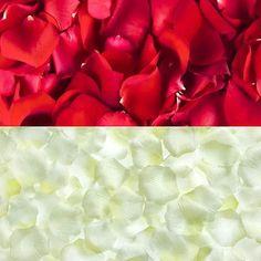 500 1000 Stück Rosenblüten Rosenblätter Blütenblätter Streudeko Hochzeit Deko
