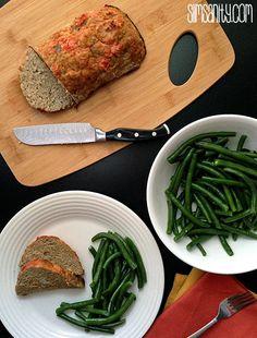 Healthy Turkey Meatloaf - Slim Sanity