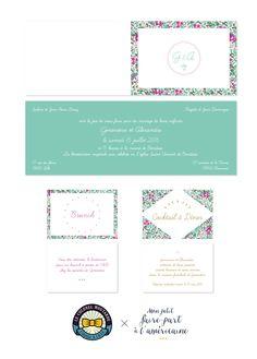 Carte De Visite Design Belle Moutarde Faire Part Mariage Vert