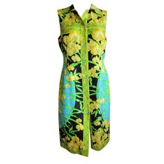 Versace Couture Silk sheath dress sz 42