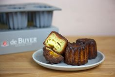 >> The perfect cannelé with a silicone mold!!!