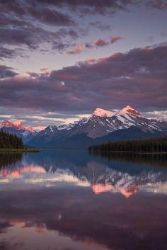 Moraine Sunset |Moraine Lake, Banff National Park, Canada