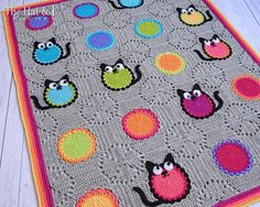 Looking for your next project? You're going to love Cat Lover Blanket by designer Marken. - via @Craftsy