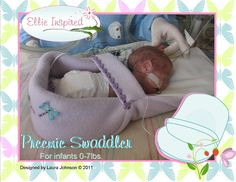 Free Premie swaddler.  I want to make some of these and donate to the local Children's Hospital.