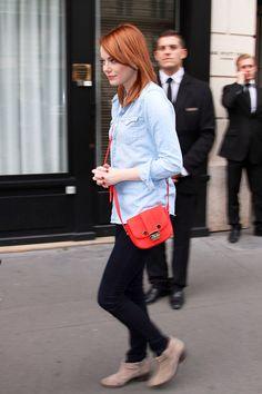 Emma Stone style #emmastone