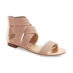 Sole Society 'Aggie' Ankle Strap Sandal (1.450.075 VND) ❤ liked on Polyvore featuring shoes, sandals, ankle wrap sandals, sole society, ankle strap sandals, ankle tie sandals and sole society shoes